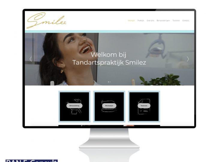 Nieuwe website Smilez live!