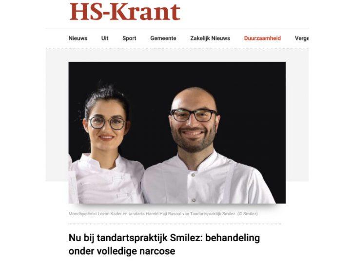 Smilez in het nieuws:  behandeling onder narcose